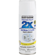 RUSTOLEUM 249126 12OZ FLAT WHITE PAINTERS TOUCH 2X ULTRA COVER SPRAY