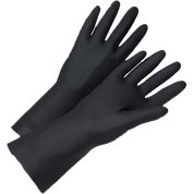 WEST CHESTER 00131 LRG BLACK 28 MIL FLOCK LINED NEOPRENE GLOVE 1 PAIR