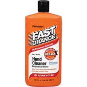 PERMATEX 25116 15OZ FAST ORANGE HAND CLEANER PUMICE LOTION SQUEEZE BOTTLE