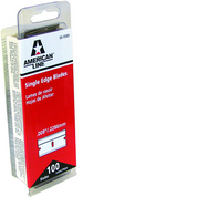 ASR 66-0089-DISP .009 REGULAR/DURO EDGE BLADE 100PK