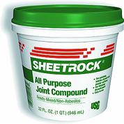 USG 380270 006 QT All PURPOSE JOINT COMPOUND GREEN LID