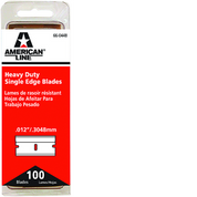 ASR 66-0448 .012 HD SINGLE EDGE BLADE 100PK