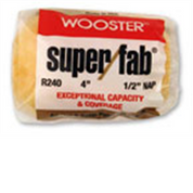 """WOOSTER R240 12"""" SUPER FAB 1/2"""" NAP ROLLER COVER"""