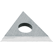 "WARNER 828 1"" CARBIDE SCRAPER REPLACEMENT TRIANGLE BLADE"