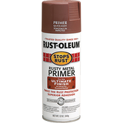 RUSTOLEUM 7769830 12OZ FLAT RUSTY METAL PRIMER STOPS RUST SPRAY