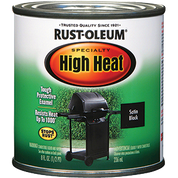 RUSTOLEUM 7778730 .5PT BBQ BLACK HIGH HEAT SPECIALTY ENAMEL