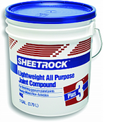 USG 380340 004 1G PLUS-3 LIGHTWEIGHT JOINT COMPOUND BLUE LID