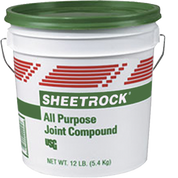 USG 385140 004 1G ALL PURPOSE JOINT COMPOUND GREEN LID