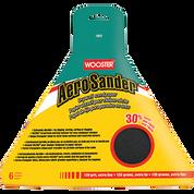 WOOSTER 1803 AERO SANDER 120 GRIT SANDPAPER 6PK