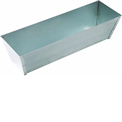 "HYDE 09071 12"" GALVANIZED MUD PAN"