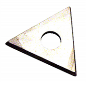 "HYDE 11160 7/8"" 3-EDGE CARBIDE TRIANGLE REPLACEMENT BLADE FOR 10600"
