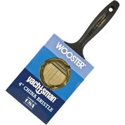 "WOOSTER Z1120 4"" YACHTSMAN WHITE CHINA BRISTLE FLAT PAINT BRUSH"