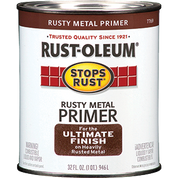 RUSTOLEUM 7769502 QT RUSTY METAL PRIMER STOPS RUST