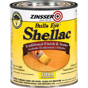 ZINSSER 304H QT BULLSEYE CLEAR SHELLAC (NEW CASE PK)