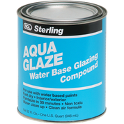 STERLING 021004 QT AQUA GLAZE WATER BASE GLAZING COMPOUND