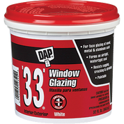 DAP 12019 1G 33 WHITE GLAZING