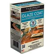FAMOWOOD 5050080 QT CLEAR GLAZE COAT HIGH BUILD EPOXY COATING 2 PART KIT