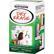 RUSTOLEUM 241140 QT WHITE DRY ERASE BRUSH-ON KIT