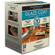 FAMOWOOD 5050110 1G CLEAR GLAZE COAT HIGH BUILD EPOXY COATING 2 PART KIT