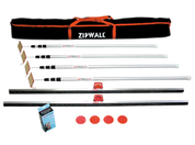 Zipwall 4-Pack Plus