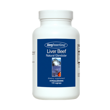 Beef Liver, Natural Glandular (Liver-O-Gland) by Allergy Research Group
