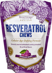 Reserveage Resveratrol Chews Bordeaux Berry