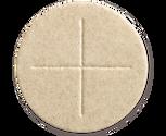 """2 3/4"""" diameter Whole Wheat Celebrant Altar Bread box of 50"""