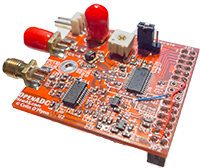 OpenADC with Female header, designed for mounting to SASEBO-W Board.
