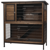 "Rabbit Hutch, Kaytee Hutch 2 Story 48"" Wide, (Special Order Only)"