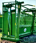 Powder River S1500 Series Chute (Self Catch Cattle Chute) L.A. Hearne Company, Official Powder River Dealer