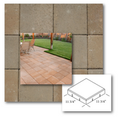 """Concrete Masonry Units, Centurion Sandstone 12"""" x 12"""" Paver... or Stepping Stones (Available for in store pick up only, in King City)"""