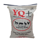 Dr Cheeke's YQ+ SUPPLEMENT, 10 lb. For Horses, Swine, Rabbit, & Poultry, Price Includes Shipping & Handling  (quality ingredients, Made & Packaged in the USA)