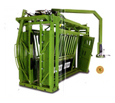 Powder River Livestock Handling Equipment, H300 Series Chute With Preg Door (MANY SIZES AVAILABLE IN-STORE ONLY, CONTACT STEVE AT L.A. HEARNE CO. KING CITY 831-385-4841; CONTACT TINA AT L.A. HEARNE CO. PRUNEDALE 831-663-1572)