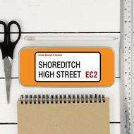 Personalised 'Street Sign' Pencil Case