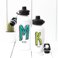 Personalised 'Initial' Water Bottle