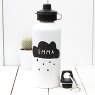 Personalised 'Cloud' Water bottle