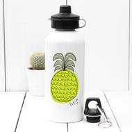 Personalised 'Pineapple' Water bottle