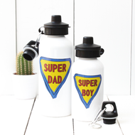 Personalised 'Super Man' Water bottle