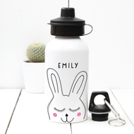 Personalised 'Rabbit' Water bottle