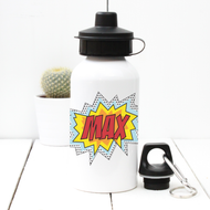 Personalised 'Pop Art' Water bottle