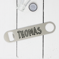 Personalised 'Bubble Name' Bottle Opener