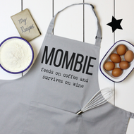 Personalised 'Mombie' Apron