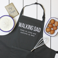 Personalised 'Walking Dad' Apron