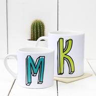 Personalised 'Initial' mug
