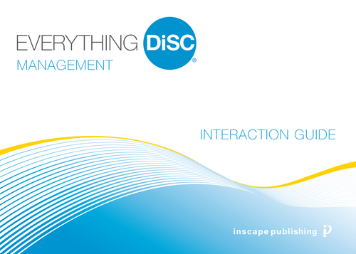 Everything DiSC Sales Customer Interaction Guide