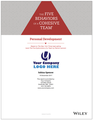 Five Behaviors Personal Development Profile