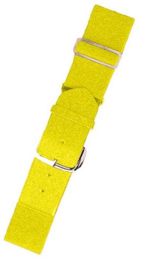 Joe's USA Bright Yellow Baseball Uniform Belts