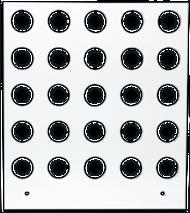 Primera Eddie Manual Tray 15mm 25 Circles (53259DTM-M0002)