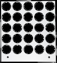 Primera Eddie Manual Tray 20mm 25 Circles (53259DTM-M0003)