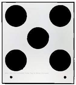 Primera Eddie Manual Tray 35mm 5 Circles (53259DTM-M0004)
